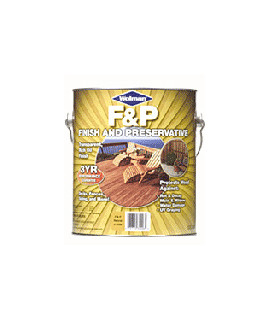 Wolman F&P® Finish And Preservative (Вулман) Защитное масляное покрытие