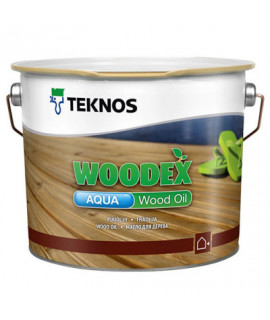 TEKNOS Woodex Aqua Wood Oil/ Текнос Вудекс Аква Вуд Ойл Масло для дерева